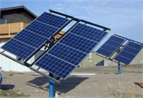 a tracking PV system